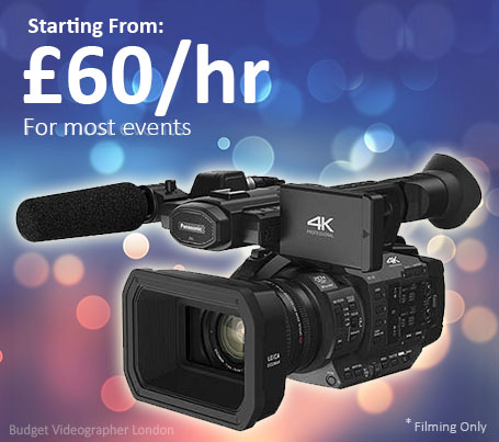 Budget Videographer London