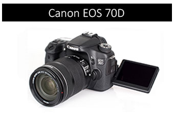 Canon 70D with Monopod